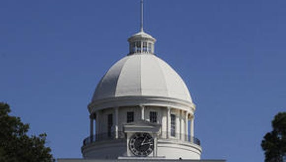 The Alabama State Capitol.