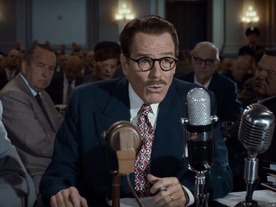 Bryan Cranston is great as blacklisted screenwriter