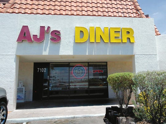 AJ's Diner at 7102 N. Mesa offers patrons a fun, Americana feel, complete with classic red booths, neon signs and a jukebox.