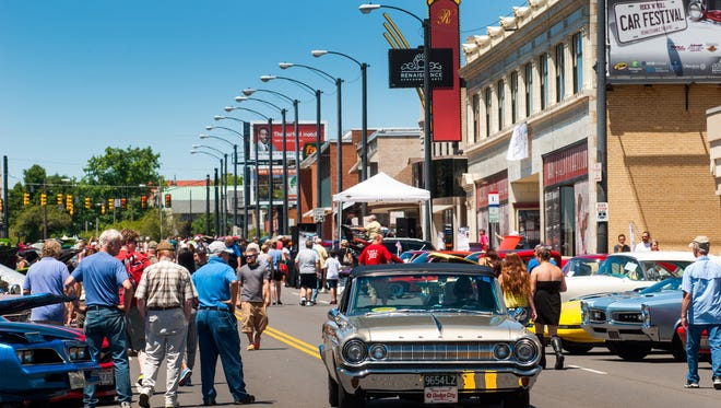 Renaissance Rock 'n' Roll Car Festival returns to downtown Mansfield Saturday, June 24.