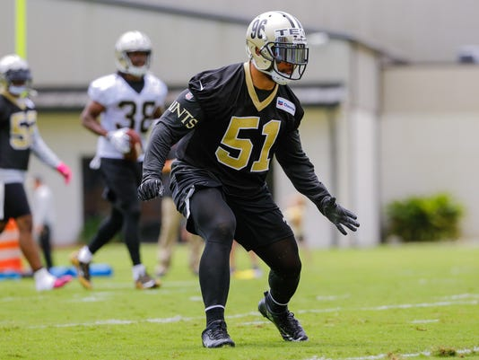 NFL: New Orleans Saints-Minicamp