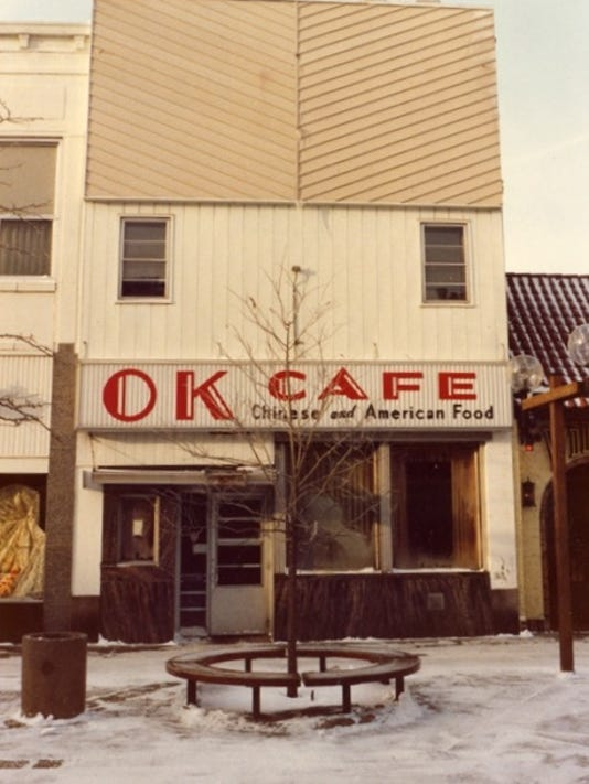 OK Cafe outside