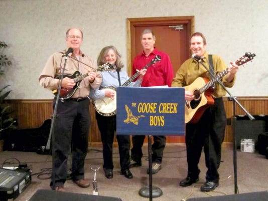 The Goose Creek Boys will be performing at the Blue Grass Festival on Sat, Aug. 29, starting at 3 p.m., at Wenger's Meeting house in Jonestown. This is a fund-raising event to preserve and main the 1870s-era meeting house.