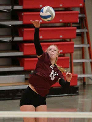 Buhler's Hadley Waldren earned First Team All-AVCTL Division III honors.
