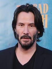 LOS ANGELES, CA - JUNE 19:  Actor Keanu Reeves attends