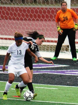 Alicia Shatrau (15) had 2 goals and 3 assists last season for a Brighton team that lost in overtime to Novi in the regional championship game.
