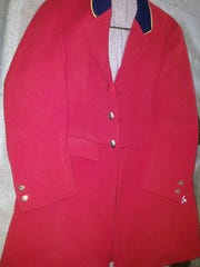 This riding jacket, made by A.V. Griffith, was recently given to the author.