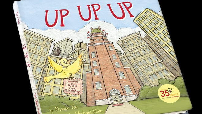 """""""Up Up Up"""" was released this fall by local author Phoebe Fox and illustrator Michael Hale. Non-profit Southwest Human Development published the book as part of its first children's book contest."""
