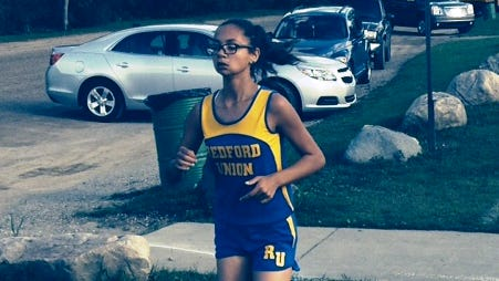 Redford Union's Cliffangela Stafford opened her cross country season in high style by winning Tuesday's WWAC tri-meet at Bell Creek Park.