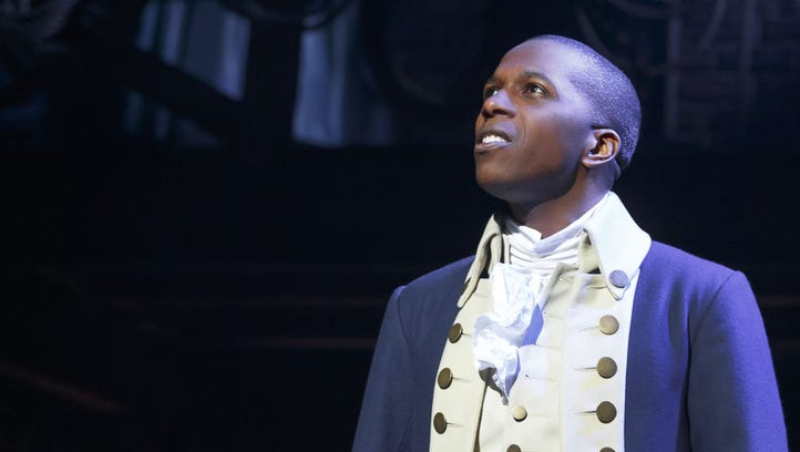 Leslie Odom Jr. won the Tony Award for his performance