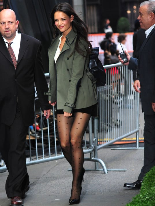 Good Morning America Stories Today : Katie holmes goes from grunge to glam in nyc