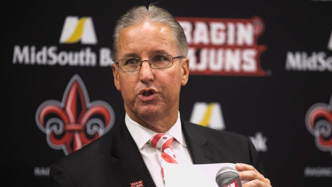 Former UL athletic director Scott Farmer announced his resignation on Nov. 22, 2016.