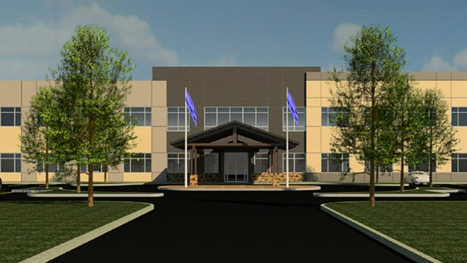 A rendering of the new offices, warehouse and distribution center for High Country Beverage, which plans to move to 2534 in Johnstown.