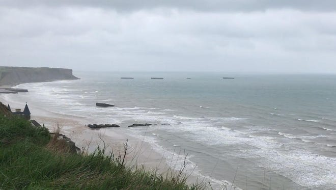 Michigan spent a day in Normandy on Sunday, April 29, 2018 in France.