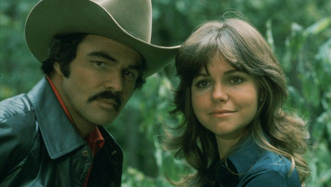 """Burt Reynolds and Sally Field star in """"Smokey and the Bandit,"""" which returns to theaters this week in honor of its 40th anniversary."""