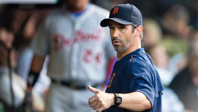 Brad Ausmus has a 215-205 record in three seasons as manager, and the Tigers hold an option on him for 2017.