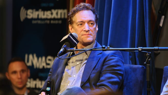 Anthony Cumia speaks at SiriusXM's O&A20: Unmasked With Opie & Anthony Special Celebrates 20 Years Of Opie & Anthony at Carolines On Broadway on April 17, 2014 in New York City.