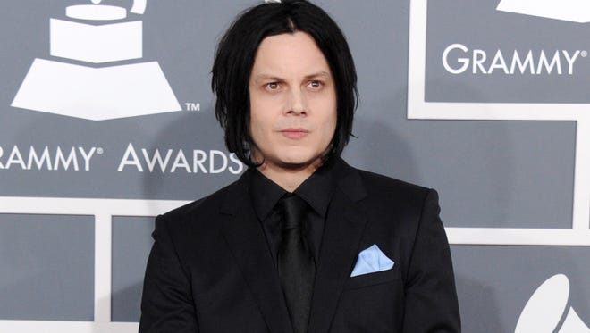 This Feb. 10, 2013, photo shows musician Jack White at the 55th annual Grammy Awards in Los Angeles.