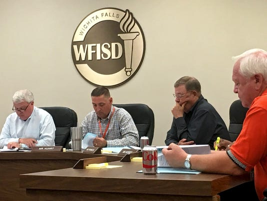 WFISD trustees meet for Tuesday work session