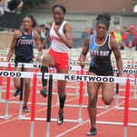 Lakeland's Stark double-winner to lead area D1 girls track champs