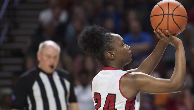 Wade Hampton senior Bre Watts and her teammates have  seen their free-throw percentages rise since early January.