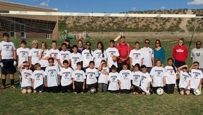 Beaver Dam Elementary School hosted a soccer camp last month.