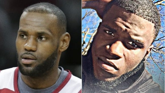 Montgomery native Jabriel Wilson-Carter has been called LeBron James for his facial hair.