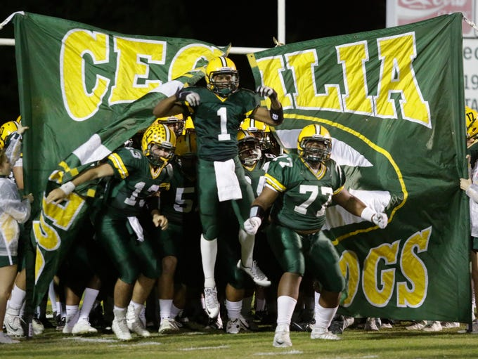 Cecilia hosts Breaux Bridge in their game on Friday