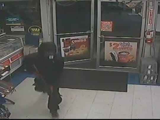 Police say Daequan Martin robbed a Felton-area store at gunpoint in late November.