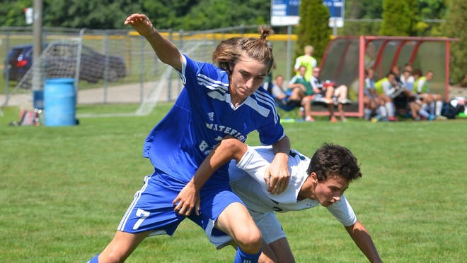 Mathew Comiskey helped Whitefish Bay maintain its No. 1 ranking in the Division 2 state poll.