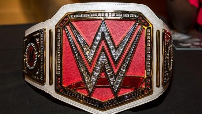 WWE championship belt.