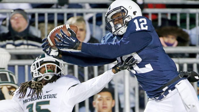 Penn State must get star receiver Chris Godwin (12) going to take the next step in developing this new offense.