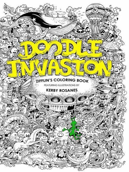 6 Quirky Coloring Books For Adults