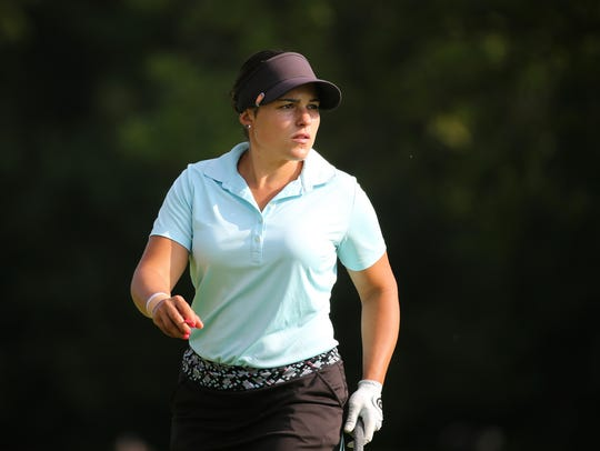 Natalie Sheary plays on the Symetra Tour at Brook-Lea