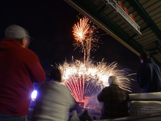 Aces fireworks