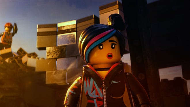 Elizabeth Banks voices Wyldstyle in the new? 3D computer animated adventure '?The LEGO® Movie.'