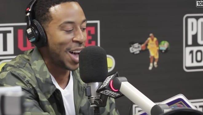 Ludacris raps the words to the children's book 'Llama Llama Red Pajama.'