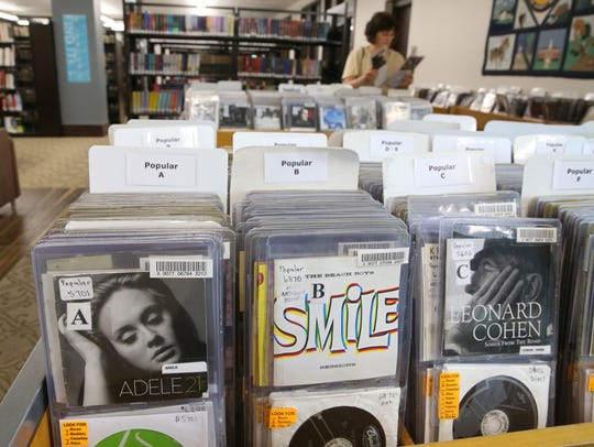 An extensive selection of popular music is also available