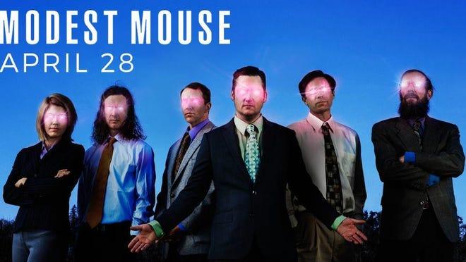 Modest Mouse takes the Municipal Auditorium stage at 8 p.m. Thursday.