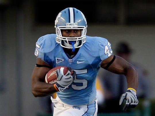Former North Carolina football player Devon Ramsay