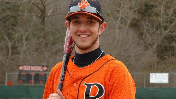 Rosman senior Dillon Zachary.