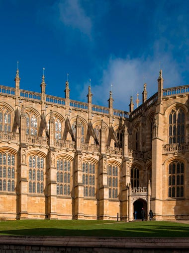 A general view shows St George's Chapel at Windsor Castle, west of London, where Britain's Prince Harry and U.S. actress Meghan Markle will hold their wedding ceremony May 19.  Britain's Prince Harry and US actress Meghan Markle will marry on May 19 at St George's Chapel in Windsor Castle.  / AFP PHOTO / POOL / Dominic Lipinski / EMBARGOED -- NOT FOR USE UNTIL 0001GMT MONDAY FEBRUARY 12, 2018DOMINIC LIPINSKI/AFP/Getty Images ORIG FILE ID: AFP_ZH0SD