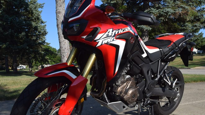 The Honda Africa Twin is a motorcycle built for adventure touring.