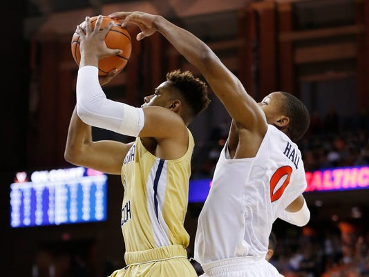 NCAA Basketball: Georgia Tech at Virginia
