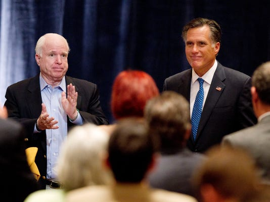 McCain and Romney