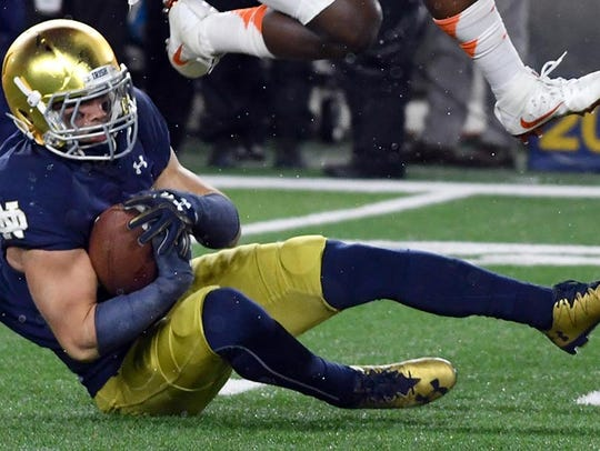 Notre Dame Fighting Irish safety Drue Tranquill attended