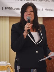 State Sen. Sue Serino debates during a forum held in September 2016 at a Dutchess County Regional Chamber of Commerce Contact Breakfast at the Poughkeepsie Grand Hotel.