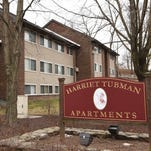 A view of the Harriet Tubman Terrace Apartments in the City of Poughkeepsie.