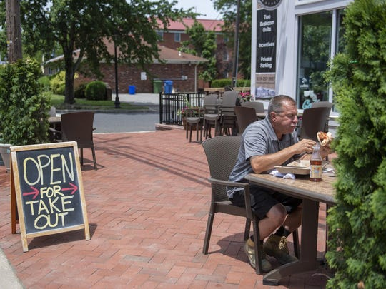 Nene Italian Market opens for outdoor dining Monday in Evesham as restaurants throughout the state begin to reopen.