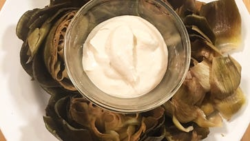 This artichoke dish is so simple and delicious